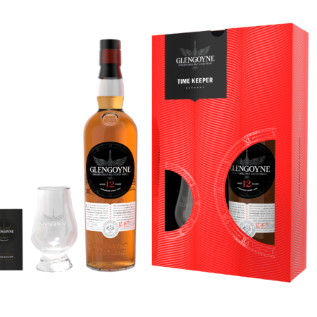 "Glengoyne Whisky 12 Years ""Time Keeper"" 70cl 43%"