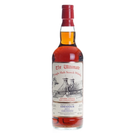 Ultimate Whisky Edradour 2011 Cask Strenght 9 Years 70cl 57,3%