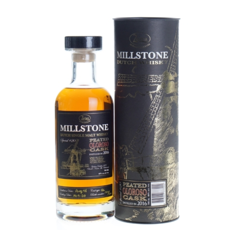 Zuidam Whisky Millstone Special 20 Peated Oloroso Cask 2016 70cl 46%