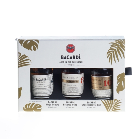 Bacardi Rum Discovery Giftset 3x10cl