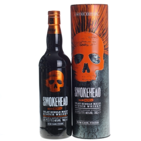 Smokehead Whisky Rum Cask Finish Rebel 70cl 46%