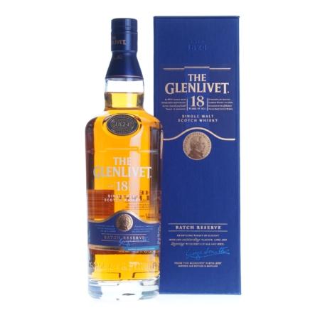 Glenlivet Whisky 18 Years Batch Reserve 70cl 40%