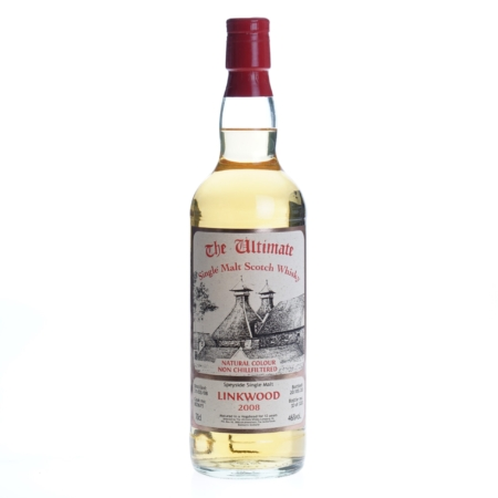 Ultimate Whisky Linkwood 2008 12 Years 70cl 46%