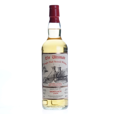Ultimate Whisky Mortlach 12 Years 2008 70cl 46%