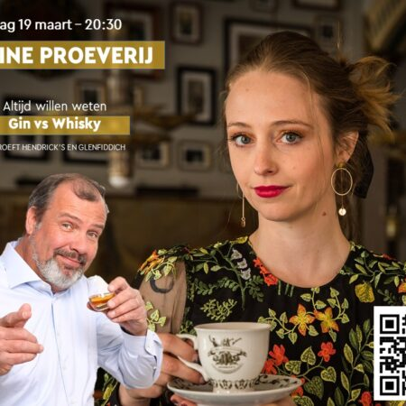 Sample Set Online proeverij Hendrick's Gin meets Glenfiddich Whisky 19 Maart