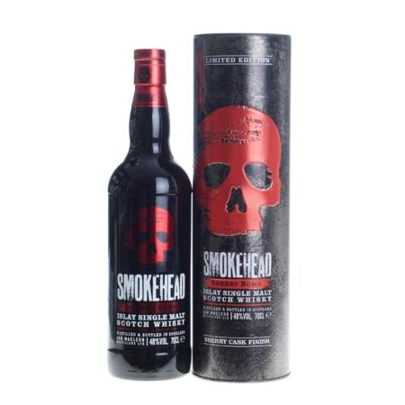Smokehead Whisky Sherry Bomb Cask Finish 70cl 48%