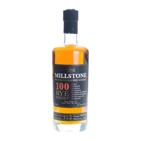 Zuidam Whisky Millstone 100 Rye 70cl 50%