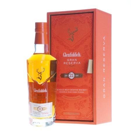 Glenfiddich Whisky Gran Reserva Rum Cask Finish 21 Years 70cl 40%