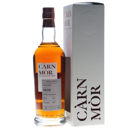 Carn Mor Whisky Williamson 10 Years 2010-2021 70cl 47,5%