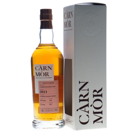 Carn Mor Whisky Glenrothes 9 Years 2011-2021 70cl 47,5%