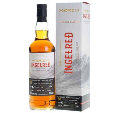 Ingelred Whisky Ben Nevis 12 Years 70cl 62,6%