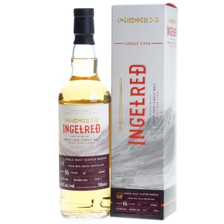Ingelred Whisky Ben Nevis 16 Years Bourbon Cask 70cl 54,9%