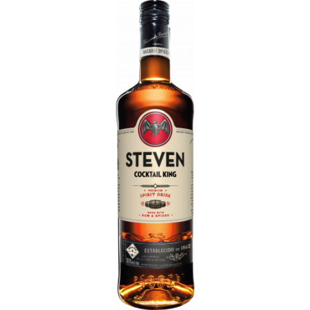 Bacardi Rum Spiced 1 ltr Gepersonaliseerde fles