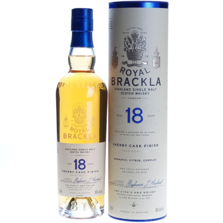 Royal Brackla Whisky 18 Years 70cl 46%