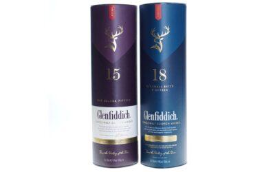 Aanbieding Glenfiddich Whisky 15 Years en 18 Years