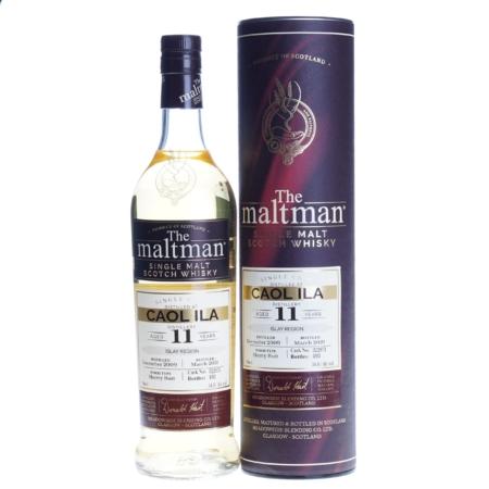 Caol Ila Whisky 11 Years The Maltman 70cl 54,4%