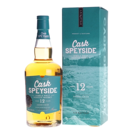 Cask Speyside Whisky 12 Years Sherry Finish 70cl 46%