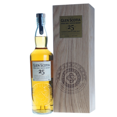 Glen Scotia Whisky 25 Years Classic Cambeltown Malt 70cl 48,8%