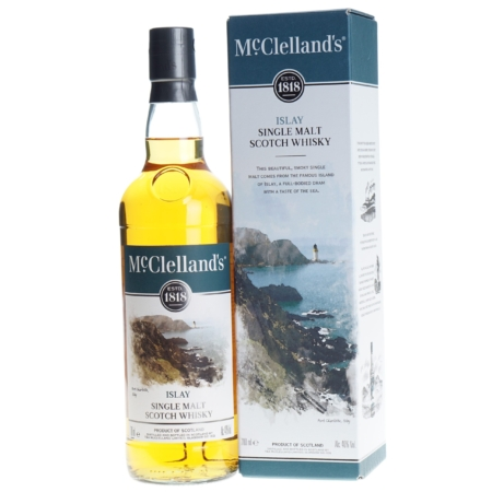 McClelland's Whisky Islay 70cl 40%