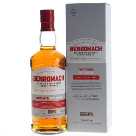Benromach Whisky Peat Smoke Sherry Cask 2012-2021 70cl 46%