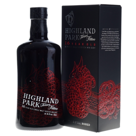 Highland Park Whisky Twisted Tattoo 16 Years 70cl 46,7%