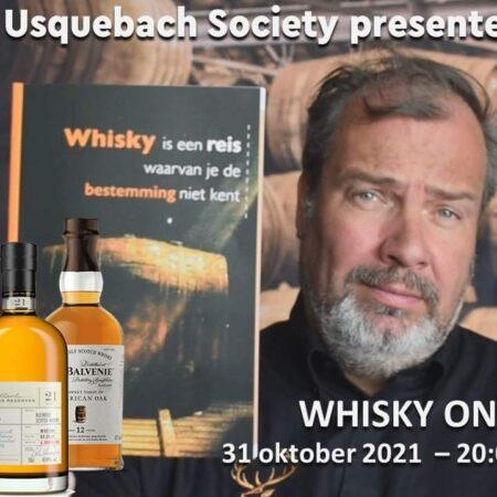 Usquebach Online Whiskyproeverij 31 oktober