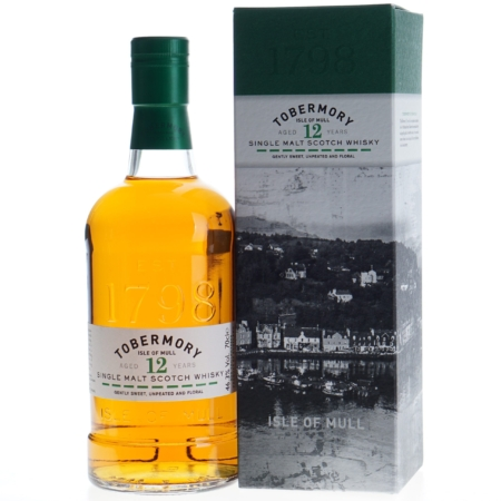 Tobermory Whisky 12 Years 70cl 46,3%