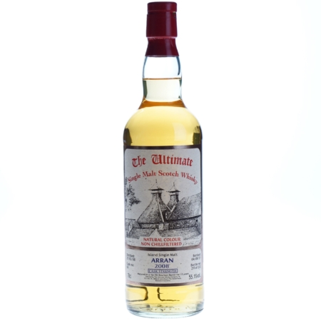 Ultimate Whisky Arran Cask Strenght 2008 13 Years 70cl 55,1%
