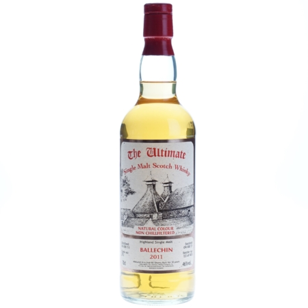 Ultimate Whisky Ballechin 2011 10 Years 70cl 46%